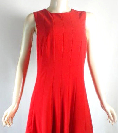 Vestido Rojo de Calvin Klein