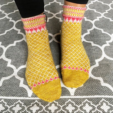 November Sock Along Kit