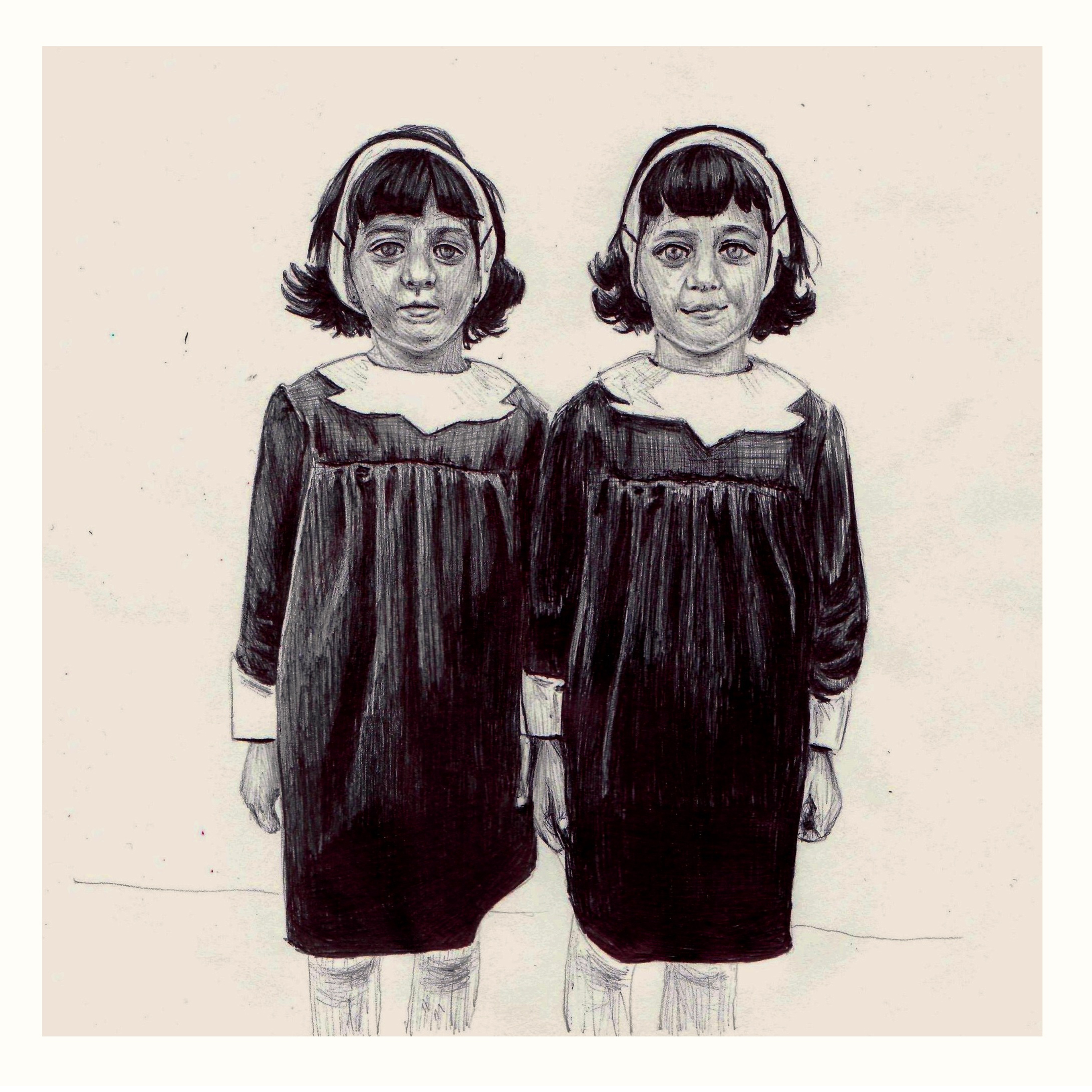 Identical Twins, Diane Arbus Photograph