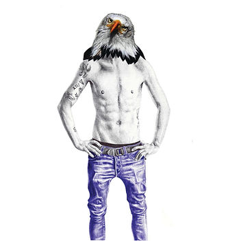 Eagle Jeans Illustration
