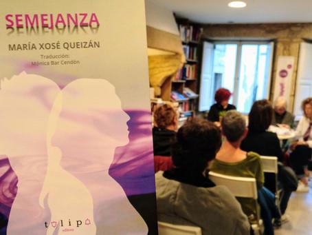 Presentación Semejanza, de María Xosé Queizán