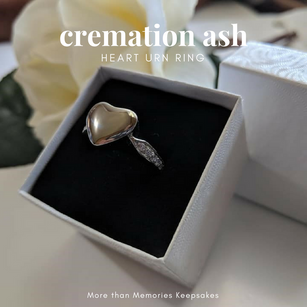 Cremation Ash Jewelry | More than Memories Keepsakes