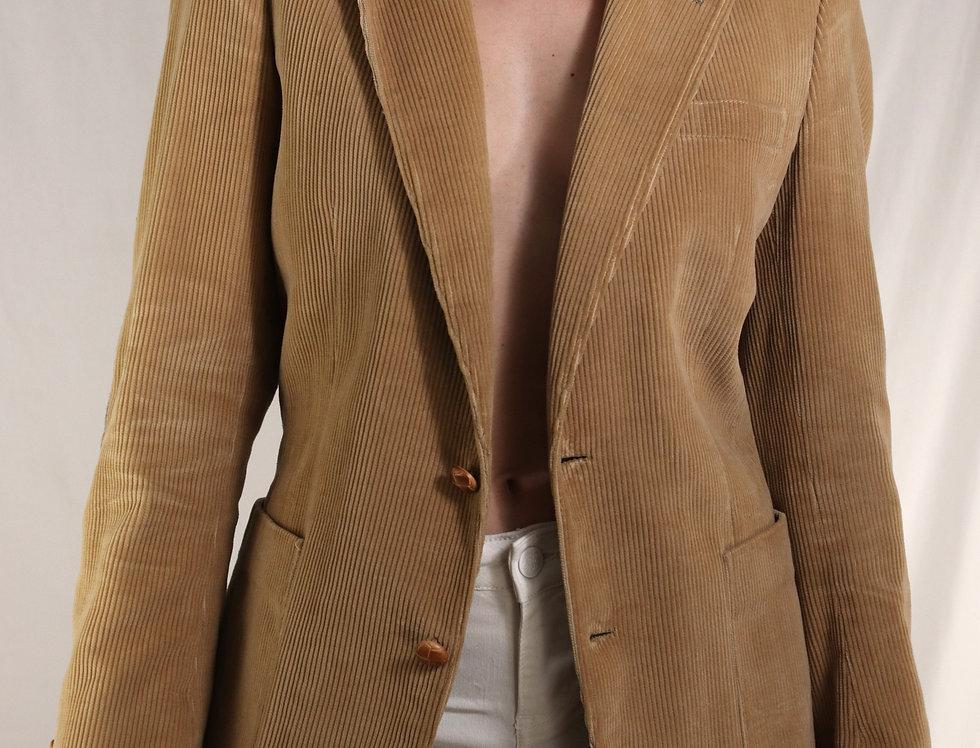 Romanian Slim Fit Corduroy Blazer (M-L)