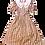 Thumbnail: Prairie Style Floral Puff Sleeve Dress (S-M)