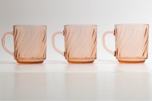 arcoroc pink glass mugs.PNG