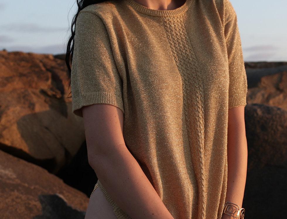 Summer Wine Sand Sweater (L-XL)