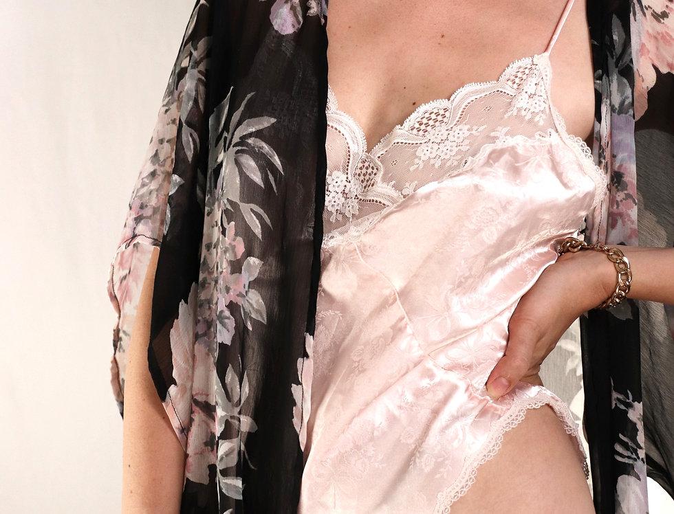 Dior   Blush Satin One Piece Body Suit (L-XL)