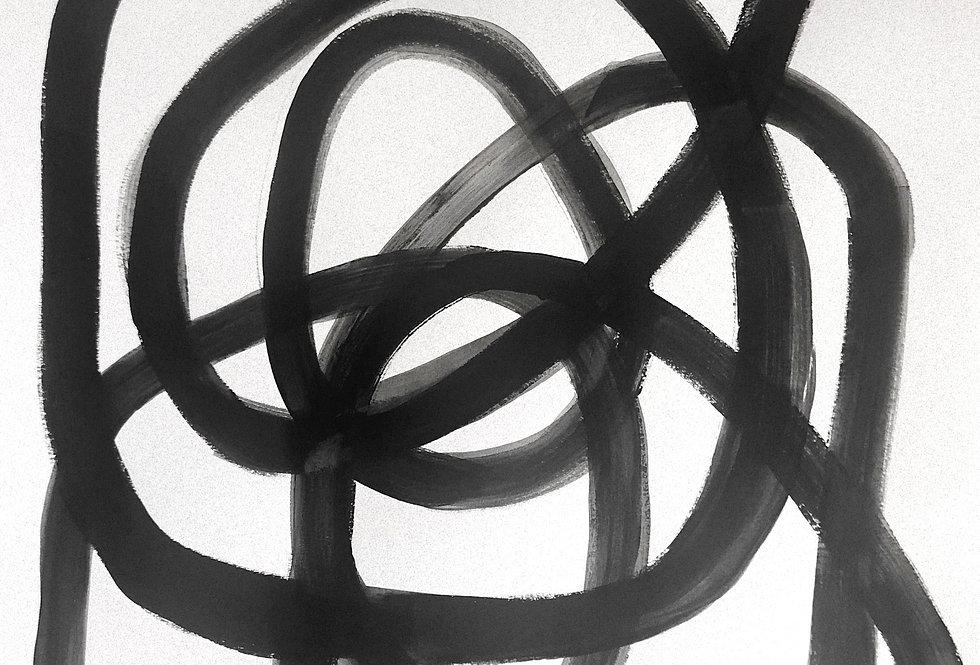 """18"""" x 24"""" Spiral no. 2"""