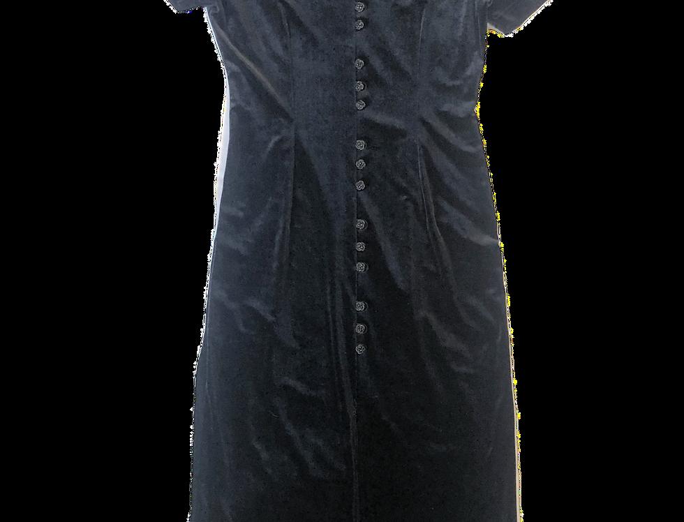 90's | Goth Georgia Maxi Dress