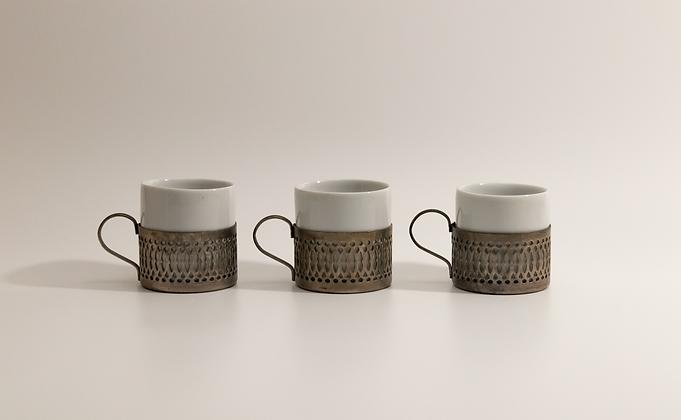 Filigree Espresso Cups