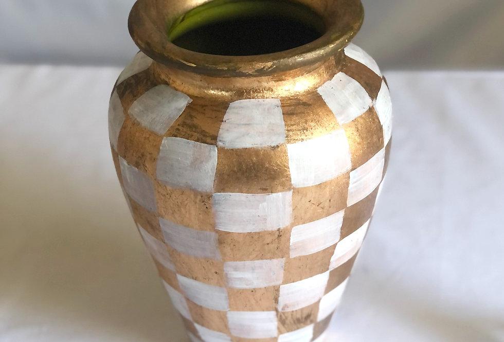 Checkered Vase
