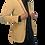 Thumbnail: Romanian Slim Fit Corduroy Blazer (M-L)