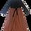 Thumbnail: Peasant Long Sleeve Tie Dress (M-L)
