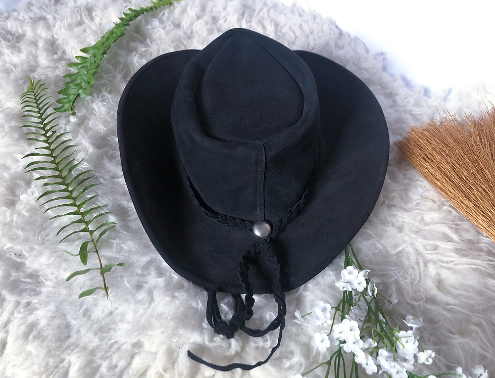 Bandita Leather Cowgirl Hat