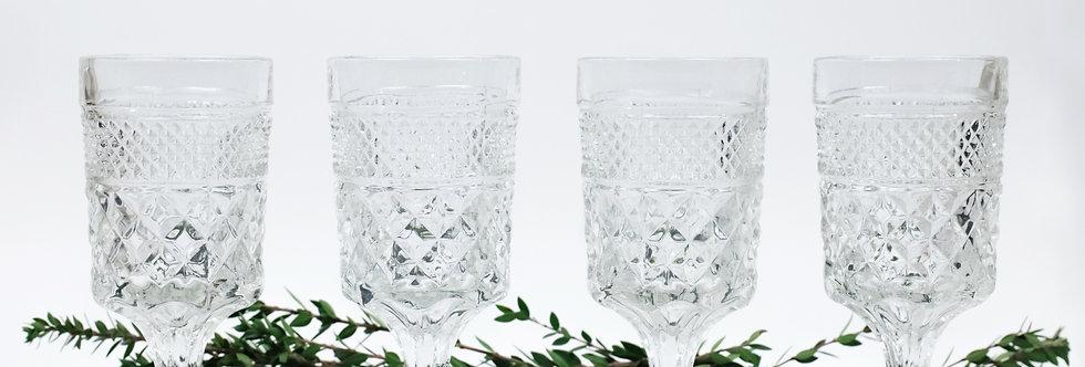 Glass Goblets (4)