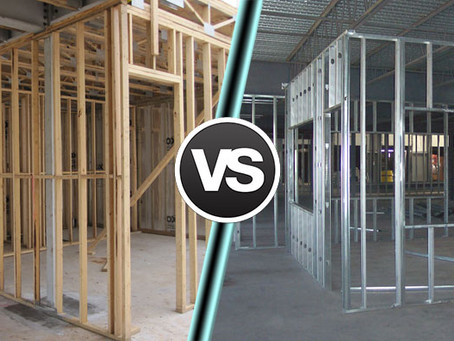 THE FINAL ROUND: WOOD VS. METAL STUDS FOR INTERIOR WALLS