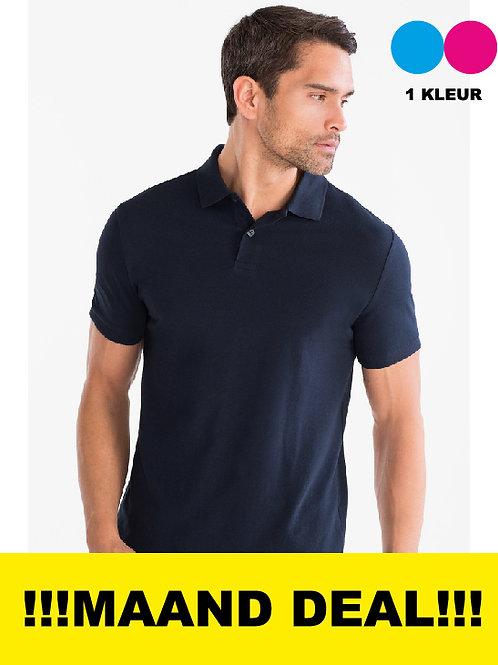 10 T-Shirts Incl Borstlogo 1 kleur