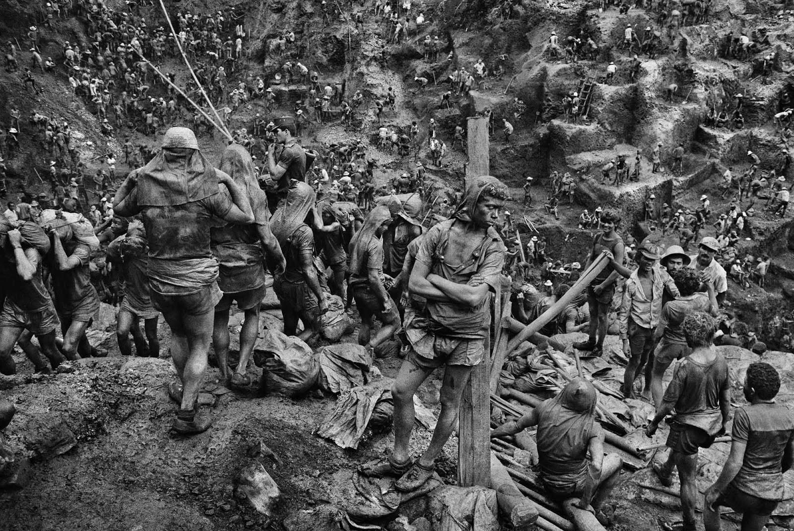 The hell of Sierra Pelada mines, 1980s (