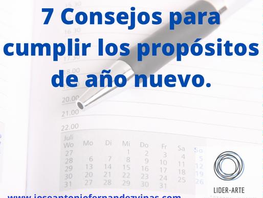 7 CONSEJOS PARA CUMPLIR LOS PROPOSITOS DE AÑO NUEVO