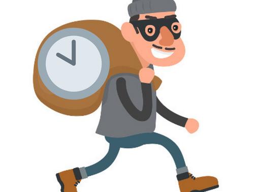 Desbordamiento laboral por los ladrones de tiempo.