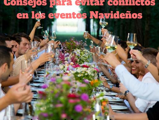 CONSEJOS PARA EVITAR CONFLICTOS EN LOS EVENTOS NAVIDEÑOS