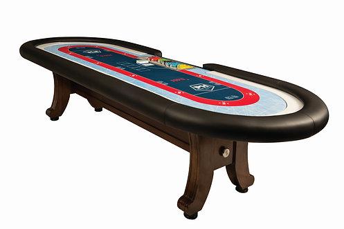 Traditional H Leg Poker Table