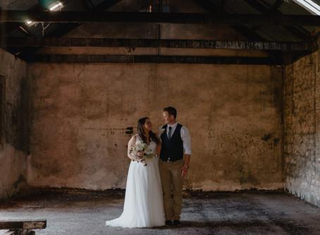 Wedding in October at Saltram Wines