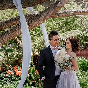 Katherine and Damian