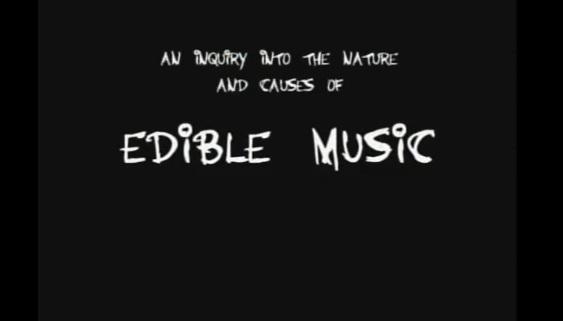 Ryan Cox: Edible Music