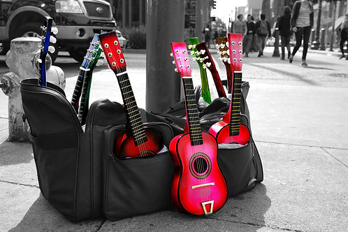 Colorful Ukes (Photograph)