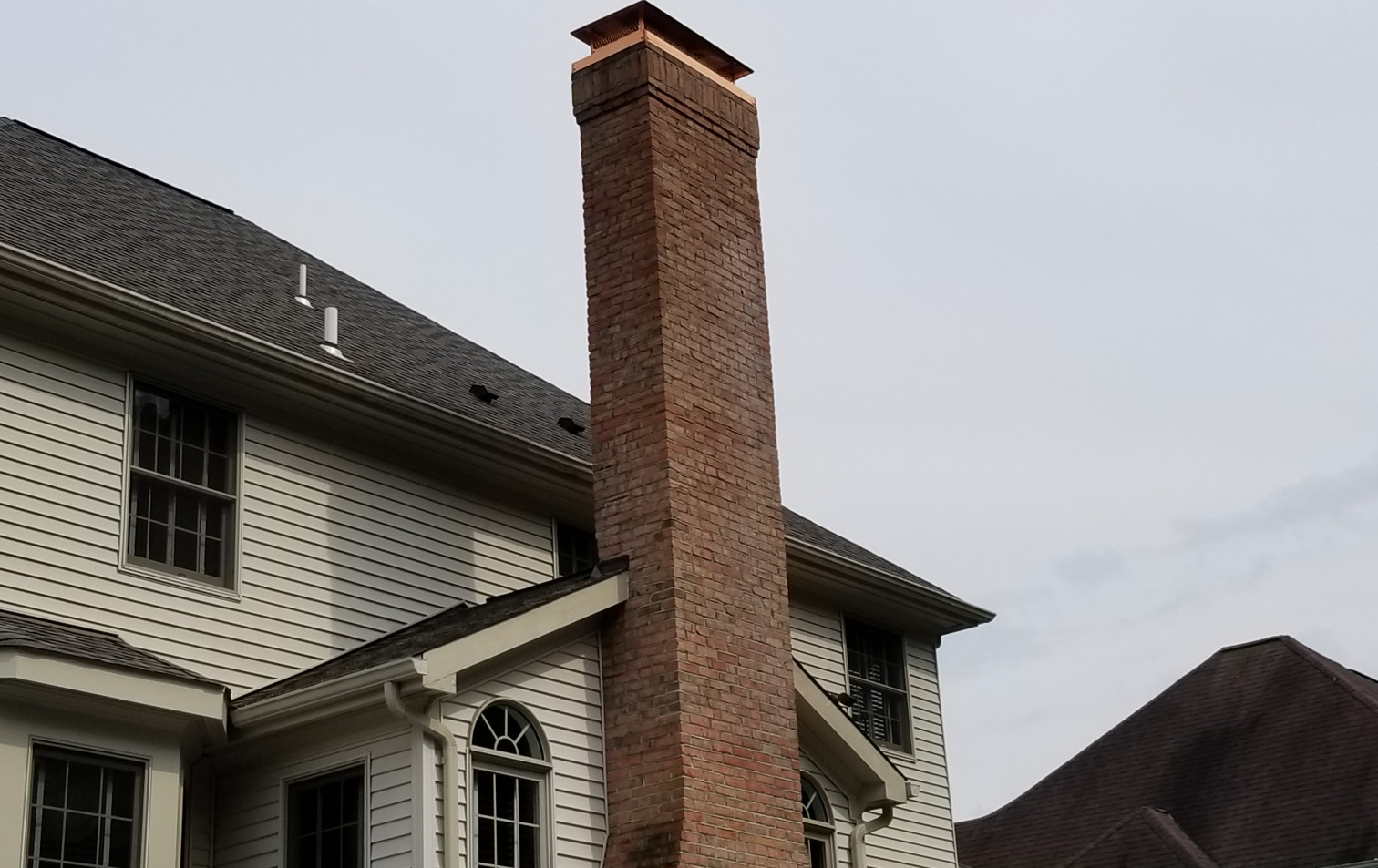 Custom Copper Chimney Cap