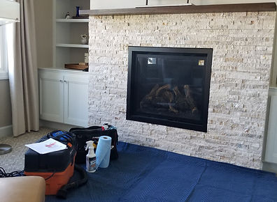 FireTec LLC providing clean, courteous fireplace service.