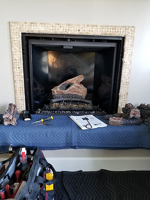 FireTec LLC providing clean, couteous fireplace service