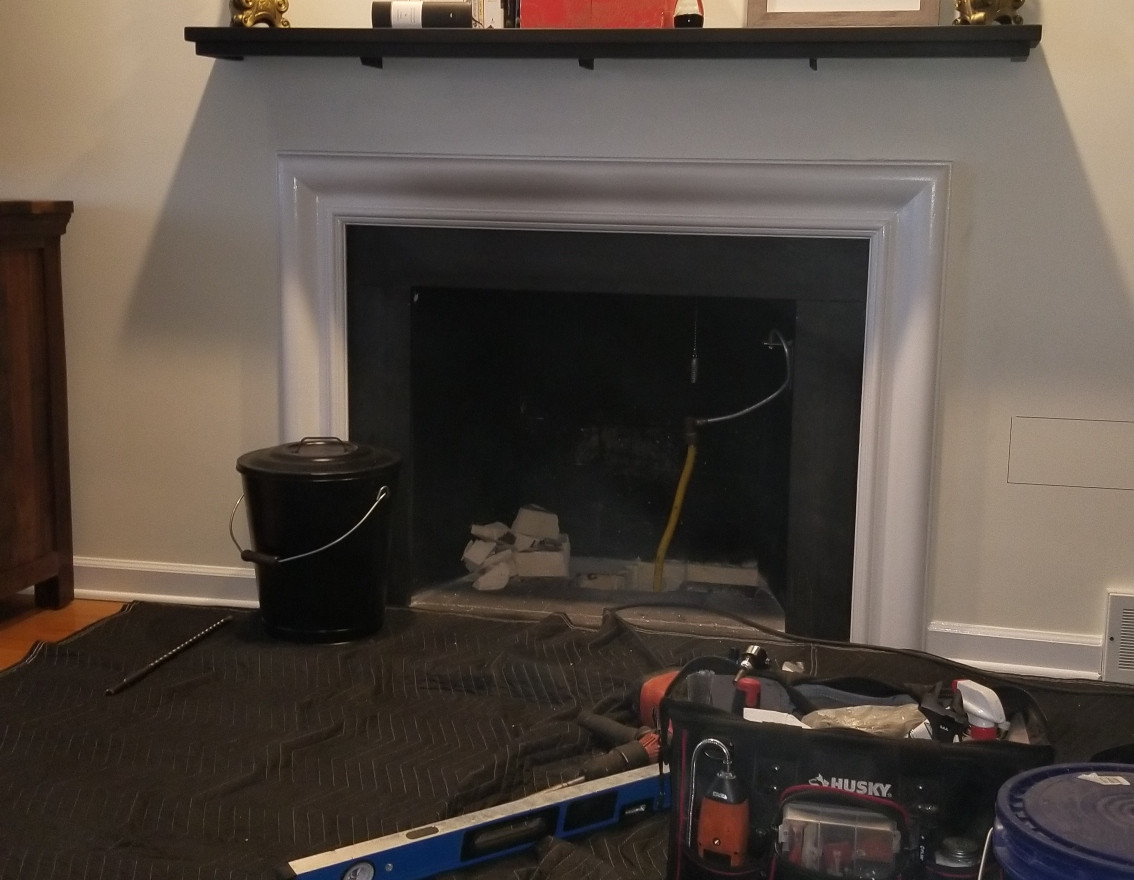 Converting to a Gas Insert