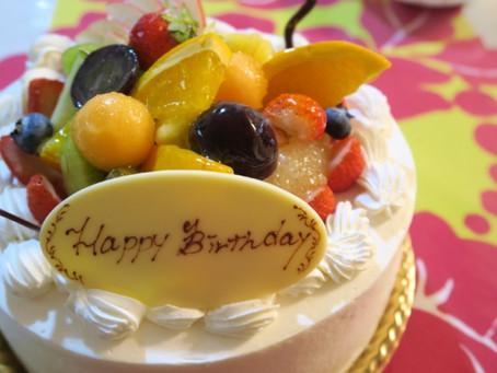 毎月開催している社内行事♪今月は、野寄聖統社長の誕生日をお祝いしました!!