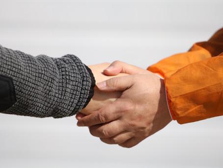 敬意の表し方は様々♪取引先の社長さんと野寄聖統社長の話を聞いていて、びっくりした話。