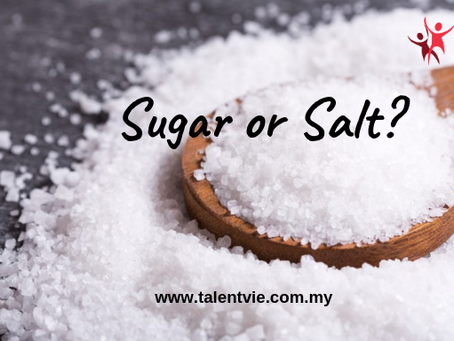 Sugar or Salt?