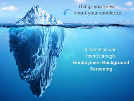 Employment Background Screening helps you to know BETTER! Know the whole Story