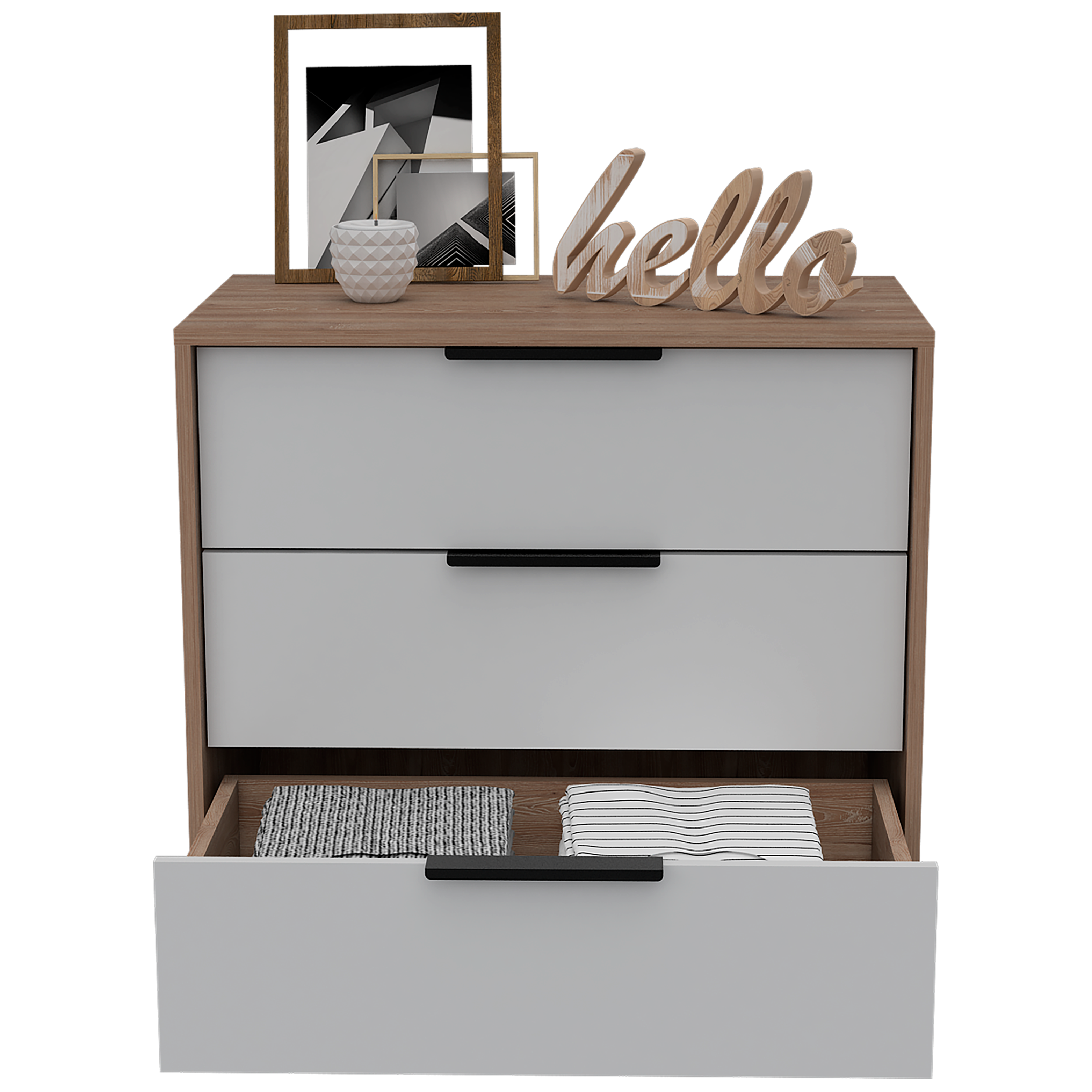 Kaia 3 Drawers Dresser Chest Drawers Rtamuebles