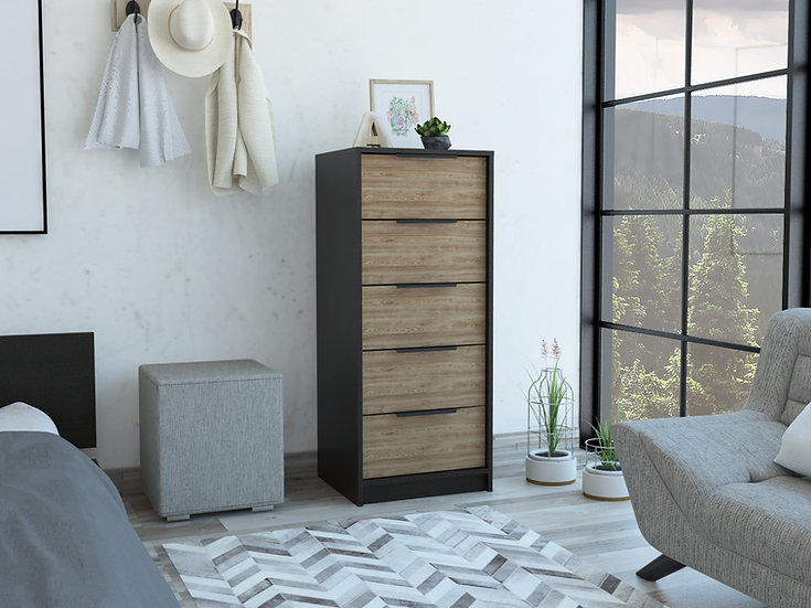 Kaia 5 drawers dresser(Chest Drawers)
