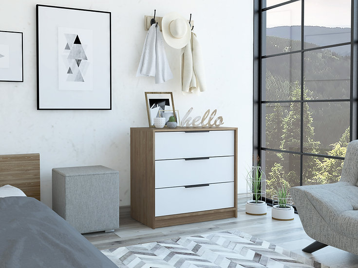 Kaia 3 drawers dresser(Chest Drawers)