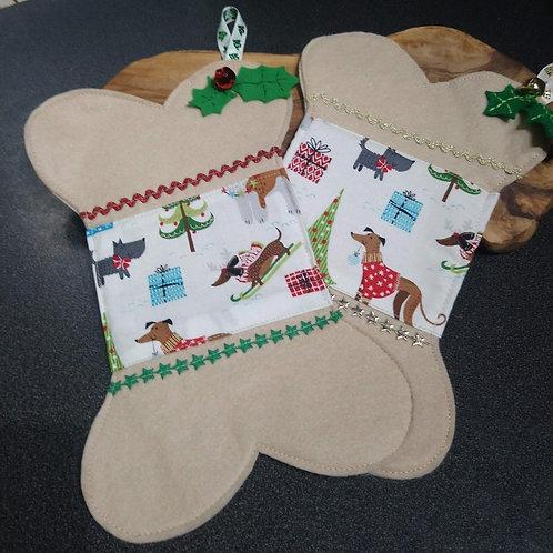Doggie bone stocking