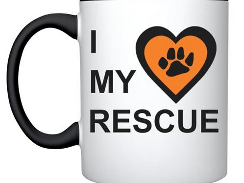 RALF 'I love my rescue' mug