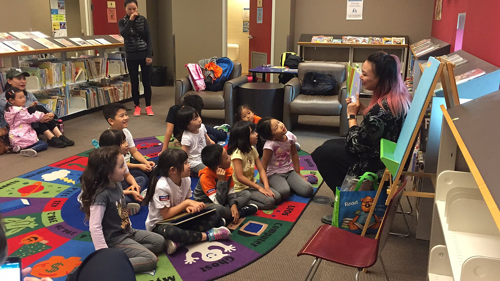 Story Time at Semiahmoo Library