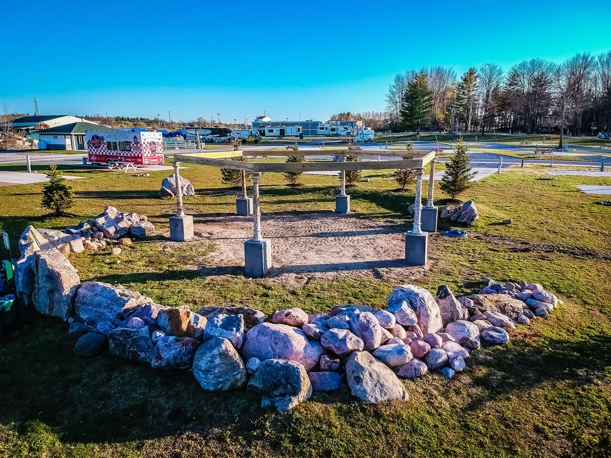Community Fire Pit