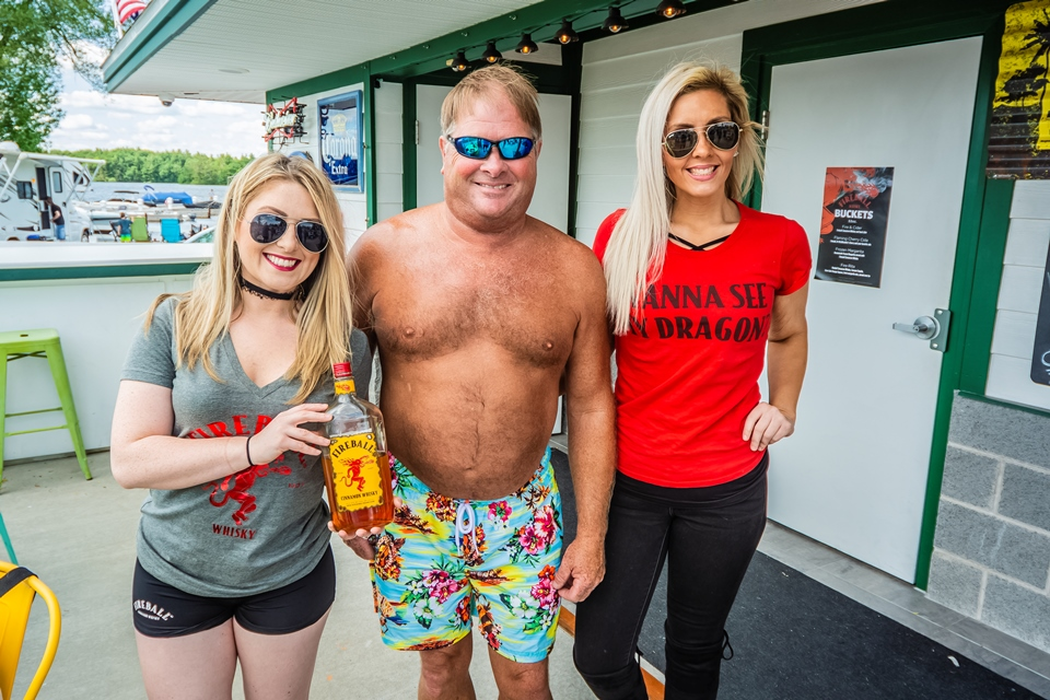 DAVE WITH THE FIREBALL GIRLS