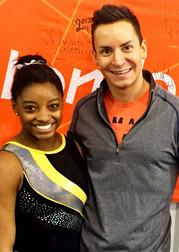 "Choreographer behind Olympics' ""Final Five"""