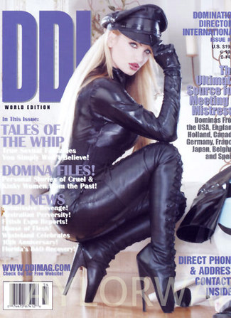 DDI magazine cover with Taylor Wane