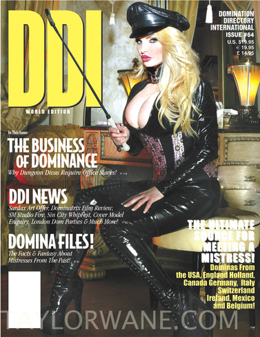DDI Cover with Taylor Wane