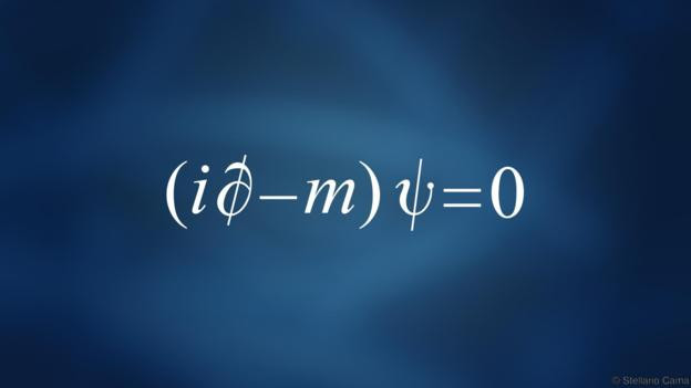 This simple looking equation predicts the existence of antimatter